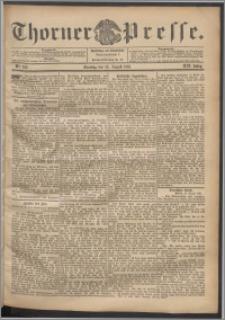 Thorner Presse 1901, Jg. XIX, Nr. 199 + 1. Beilage, 2. Beilage