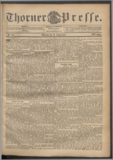 Thorner Presse 1901, Jg. XIX, Nr. 201 + Beilage