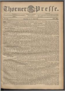 Thorner Presse 1901, Jg. XIX, Nr. 202 + Beilage