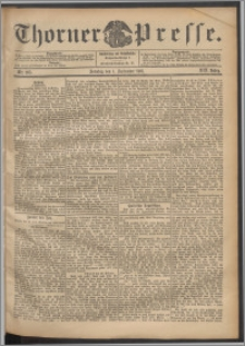 Thorner Presse 1901, Jg. XIX, Nr. 205 + 1. Beilage, 2. Beilage