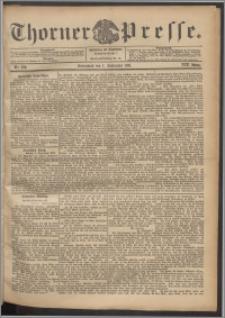 Thorner Presse 1901, Jg. XIX, Nr. 210 + Beilage