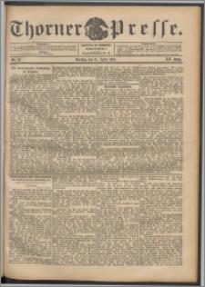 Thorner Presse 1902, Jg. XX, Nr. 87 + Beilage