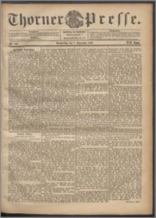 Thorner Presse 1901, Jg. XIX, Nr. 262 + Beilage