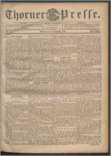 Thorner Presse 1901, Jg. XIX, Nr. 273 + Beilage