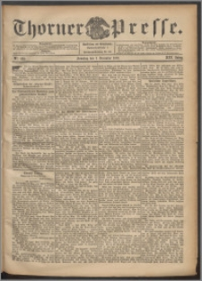 Thorner Presse 1901, Jg. XIX, Nr. 282 + 1. Beilage, 2. Beilage, 3. Beilage