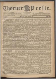 Thorner Presse 1901, Jg. XIX, Nr. 297 + 1. Beilage, 2. Beilage, Beilagenwerbung