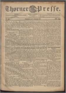Thorner Presse 1901, Jg. XIX, Nr. 303 + Beilage