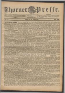 Thorner Presse 1902, Jg. XX, Nr. 199 + Beilage