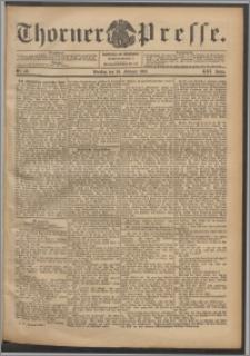 Thorner Presse 1903, Jg. XXI, Nr. 46 + Beilage