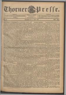 Thorner Presse 1903, Jg. XXI, Nr. 80 + Beilage