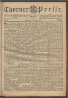 Thorner Presse 1902, Jg. XX, Nr. 277 + Beilage