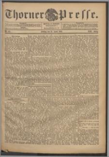 Thorner Presse 1903, Jg. XXI, Nr. 85 + 1. Beilage, 2. Beilage