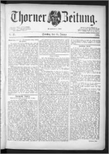 Thorner Zeitung 1891, Nr. 15