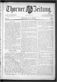 Thorner Zeitung 1891, Nr. 44