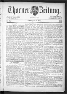 Thorner Zeitung 1891, Nr. 57 + Beilage