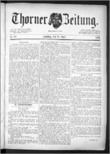 Thorner Zeitung 1891, Nr. 91