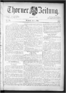 Thorner Zeitung 1891, Nr. 104