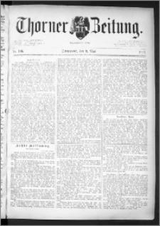 Thorner Zeitung 1891, Nr. 106