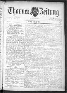 Thorner Zeitung 1891, Nr. 116