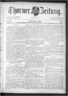 Thorner Zeitung 1891, Nr. 128