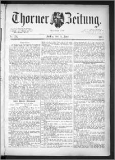 Thorner Zeitung 1891, Nr. 134