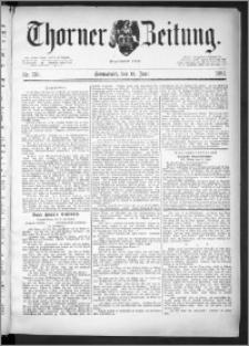 Thorner Zeitung 1891, Nr. 135