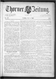 Thorner Zeitung 1891, Nr. 137
