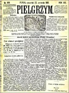 Pielgrzym, pismo religijne dla ludu 1881 nr 108