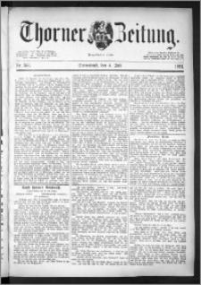 Thorner Zeitung 1891, Nr. 153
