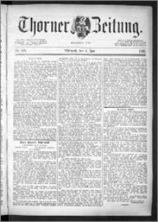 Thorner Zeitung 1891, Nr. 156