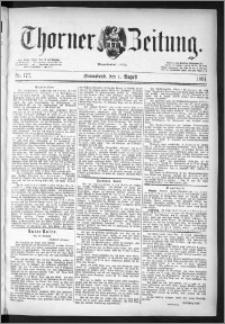 Thorner Zeitung 1891, Nr. 177