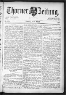 Thorner Zeitung 1891, Nr. 178