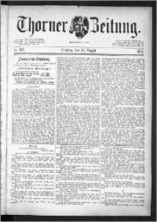 Thorner Zeitung 1891, Nr. 197