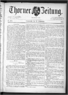 Thorner Zeitung 1891, Nr. 213