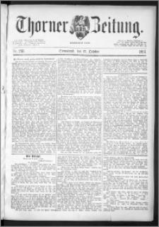Thorner Zeitung 1891, Nr. 243