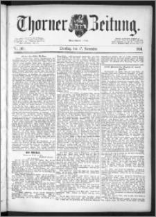 Thorner Zeitung 1891, Nr. 269