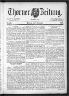 Thorner Zeitung 1891, Nr. 286 + Beilage