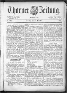 Thorner Zeitung 1891, Nr. 292 + 1. Beilage, 2. Beilage