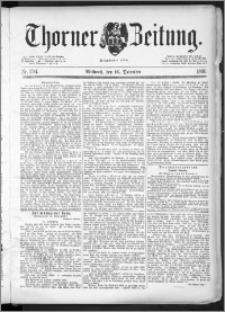 Thorner Zeitung 1891, Nr. 294