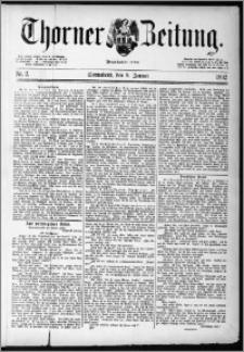 Thorner Zeitung 1892, Nr. 2 + Extra-Beilage