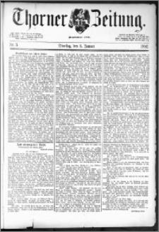 Thorner Zeitung 1892. Nr. 3