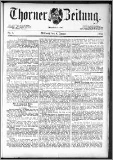 Thorner Zeitung 1892. Nr. 4