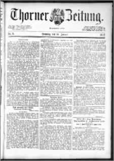 Thorner Zeitung 1892. Nr. 8 + Beilage