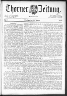 Thorner Zeitung 1892. Nr. 9