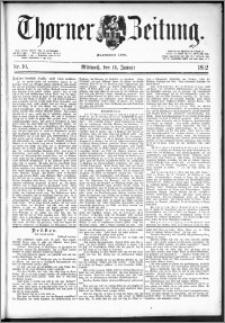 Thorner Zeitung 1892. Nr. 10
