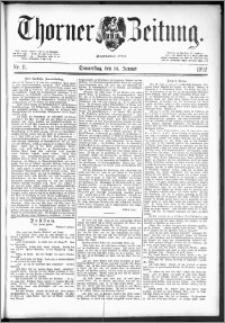 Thorner Zeitung 1892. Nr. 11