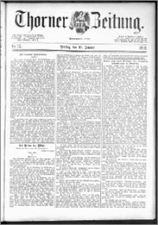 Thorner Zeitung 1892. Nr. 12