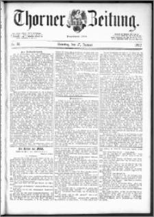 Thorner Zeitung 1892. Nr. 14
