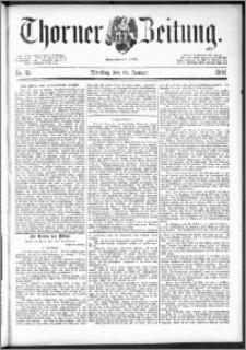 Thorner Zeitung 1892. Nr. 15