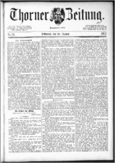Thorner Zeitung 1892. Nr. 16